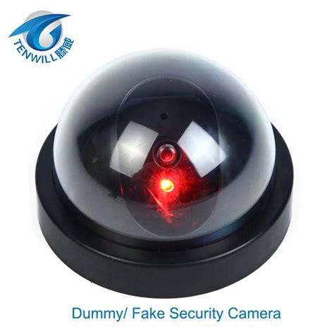 surveillance dummy flash blinking led dome