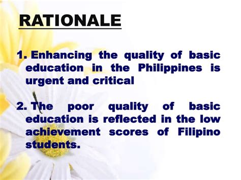 thesis about k 12 education in the philippines k 12 basic education program