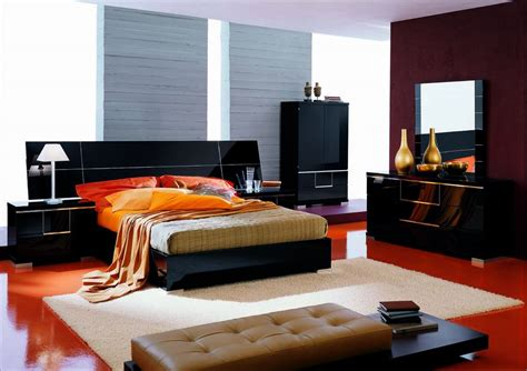 modern bedroom with trends color dands contemporary bedroom styles modern architecture concept