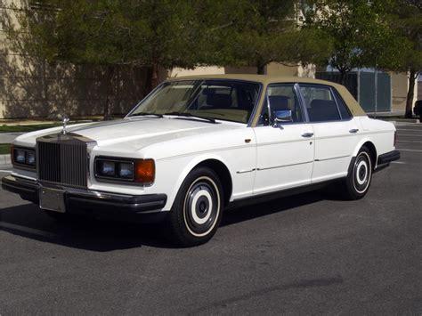 1986 rolls royce silver spur 4 door sedan 133139