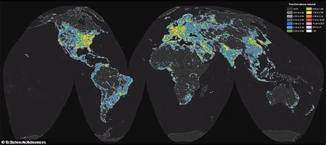 the that reveals just how bad light pollution is