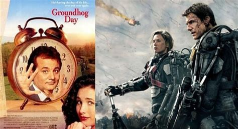 groundhog day vs edge of tomorrow celebrates groundhog day again and again
