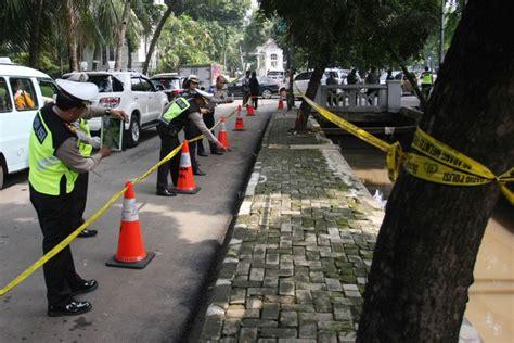 Patch Rubber Jatanras Polda Metro Jaya polisi gunakan alat canggih selidiki mobil setnov seputarnkri