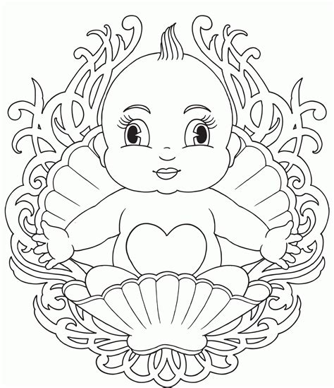 newborn baby coloring page newborn baby girl coloring pages coloring home