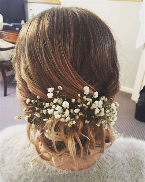 Wedding Hairstyles With Gypsophila by 1000 Images About Hair On Coiffures Bridal