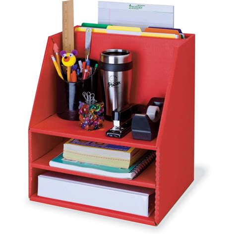 classroom keepers corrugated desk organizer