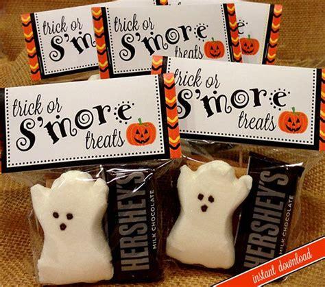 printable halloween bag decorations halloween smores bag topper printable 2 size toppers