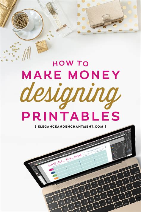 design and make money how to make money designing printables michellehickey design