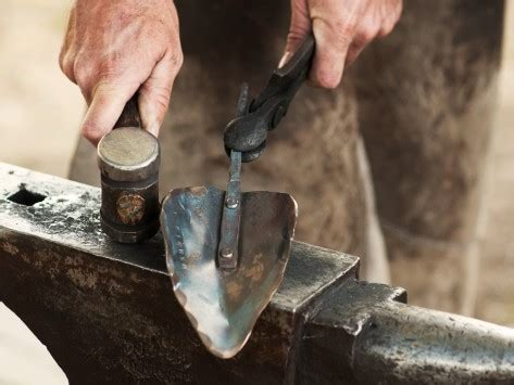 Handmade Blacksmith Products - handmade 13 quot garden tools the grommet