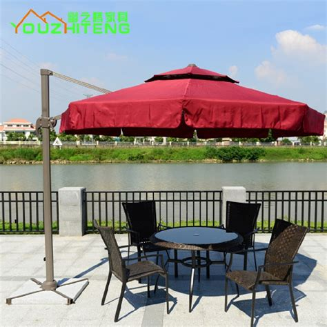 Outdoor Chair With Umbrella by Outdoor Furniture Garden Shade Umbrella Rome Hotel Indoor