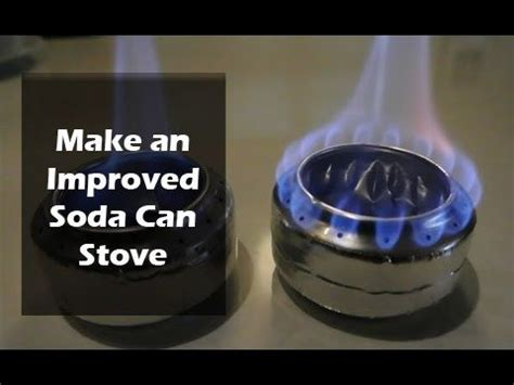 improved soda can stove soda can stove stove and soda