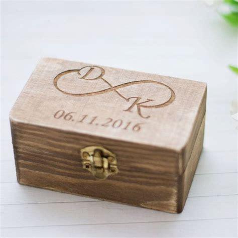 Eheringe Rustikal by Wedding Ring Box Rustikale Ehering Halter Personalisierte