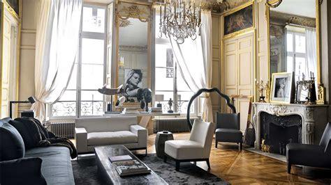 Living Room Designs Indian Apartments Interior Designer Christian Liaigre S Parisian Apartment