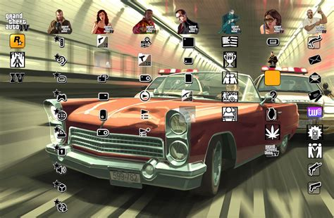 ps3 themes hd gta 5 grand theft auto 4 ps3 theme by yorksensation on deviantart