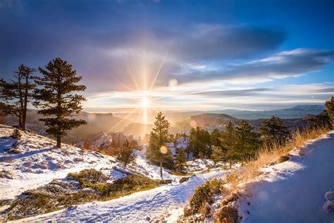 sunlight winter landscape snow wallpapers hd desktop