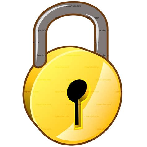 lock clip lock security clipart clipart suggest