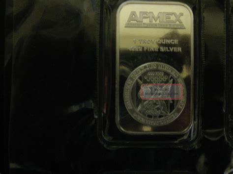 1 oz apmex silver bar 999 ten 1 oz apmex silver bar 999