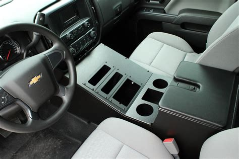 cargo floor console 2014 and up chevy truck