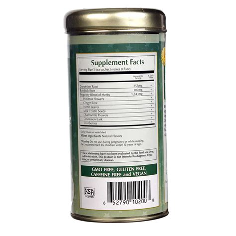 Me Detox by Zhena S Tea Wellness Tea Cranberry Detox