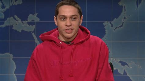 pete davidson update snl pete davidson opens up about going to rehab on snl