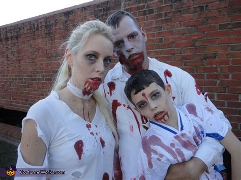 homemade zombie family costume unique diy costumes