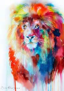 rainbow lion art pinterest inspiration amazing