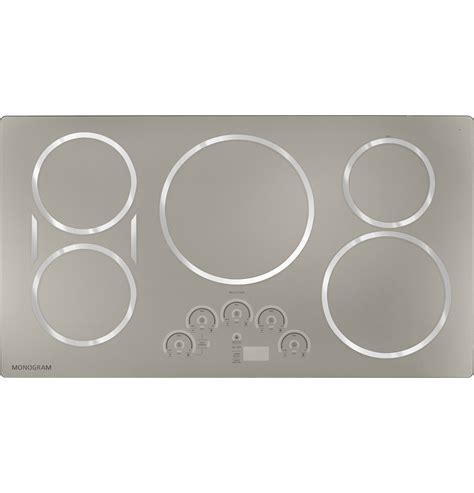 monogram cooktop monogram 36 quot induction cooktop zhu36rsjss ge appliances