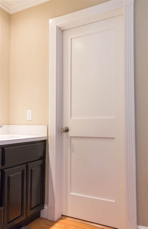 Two Panel Interior Door Shaker Doors Interior Door Replacement Company