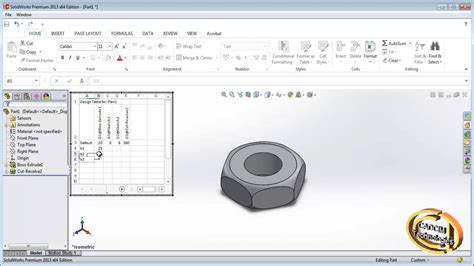 how to a design table in solidworks creating configuration design table in solidworks