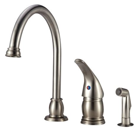 Designer Faucets Kitchen Dura Faucet Designer Pedestal Goose Neck Rv Kitchen Faucet With Matching Side Sprayer Great