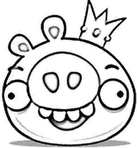 angry birds epic pigs coloring pages angry birds king pig coloring pages coloring kids