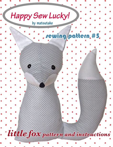 free pattern maker for sewing happy sew lucky fox sewing pattern personal use