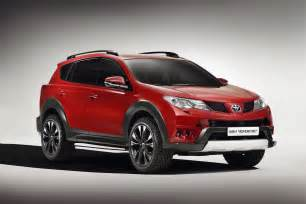 Rap4 Toyota Toyota Gets Tough Luxurious With New Rav4 Concepts