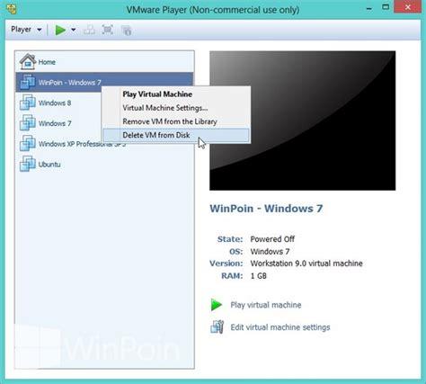 tutorial install windows 7 di vmware cara install windows 7 di vmware player beserta gambar