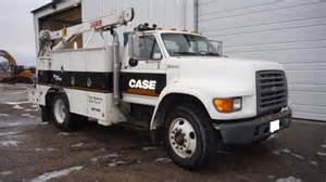 Truck Accessories Sioux City Iowa 1998 Ford F800 Service Truck W Crane Service Truck For
