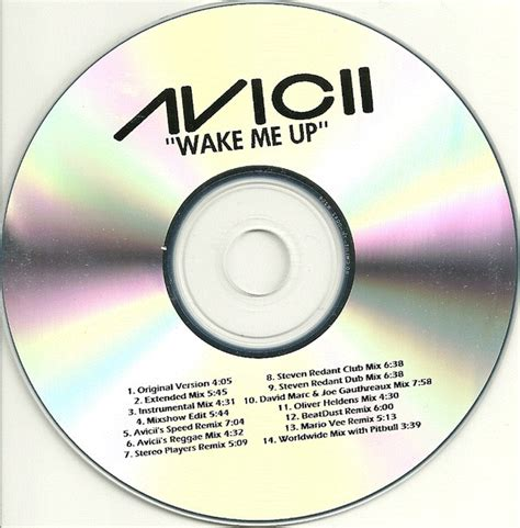 avicii discogs avicii wake me up cdr at discogs