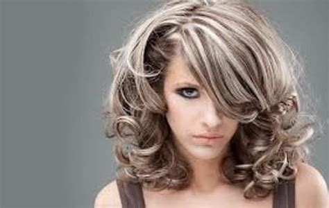 Types Of Grey Hair by Grey Hair Highlights And Lowlights Can Be Applied On Any