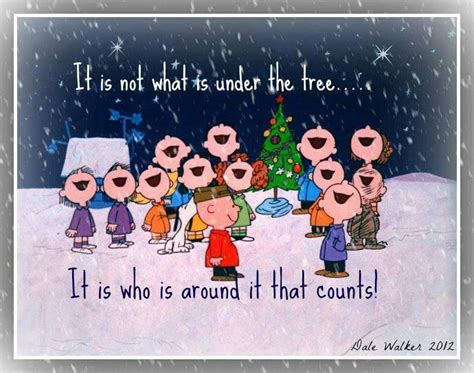 charlie brown christmas its not whats under the tree quote 114 best a brown images on merry merry