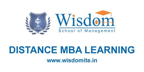 Mba Education Management Distance Learning wisdom school of management wsm master search
