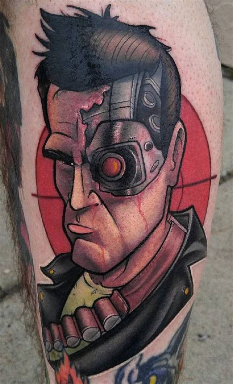 christian lucca tattoo geek dans la peau 71 terminator techartgeek