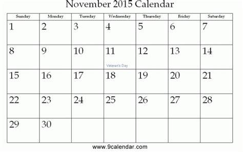 printable calendar november 2015 editable november 2015 calendar pdf image king