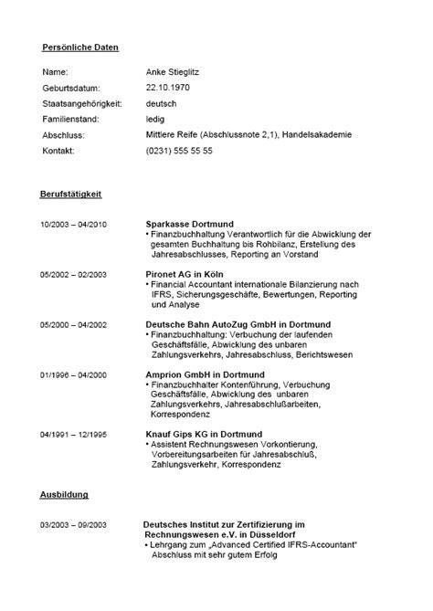 Tabellarischer Lebenslauf Vorlage Agentur F R Arbeit Bewerbungs Paket Finanzbuchhaltung Muster Zum