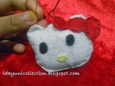 cara membuat lu hias hello kitty my stitching world shop diy cara membuat key chain