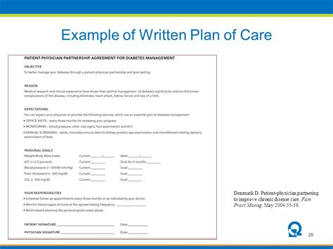 written plan template the community health center association of ct ppt