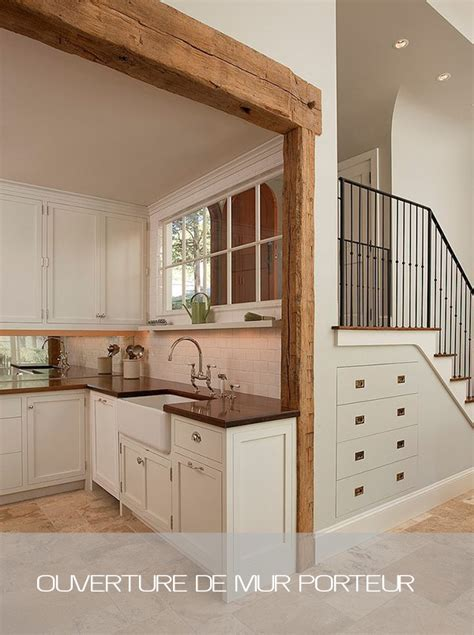 Inter Stairs And Kitchen Design Bureau D 233 Tude Ouverture Mur Porteur Ab Engineering
