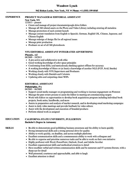 Avid Editor Cover Letter by Avid Editor Cover Letter Car Repair Sle Resume Resume Templates