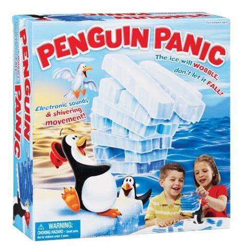 Penguin Panic penguin panic 020373250963 electric penguin sounds and shivering movements ages 5 years and up