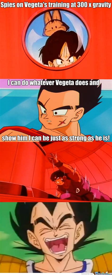 Yamcha Meme - yamcha can t keep up with vegeta by prozombiekillr meme