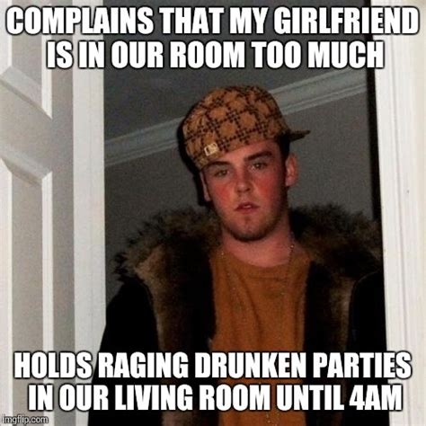 Scumbag Girlfriend Meme - scumbag college roommate imgflip