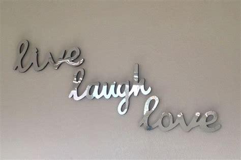 live laugh wall decor mirror wall decor live laugh room decor ideas